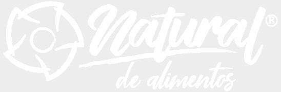 logo Natural de Alimentos blanco