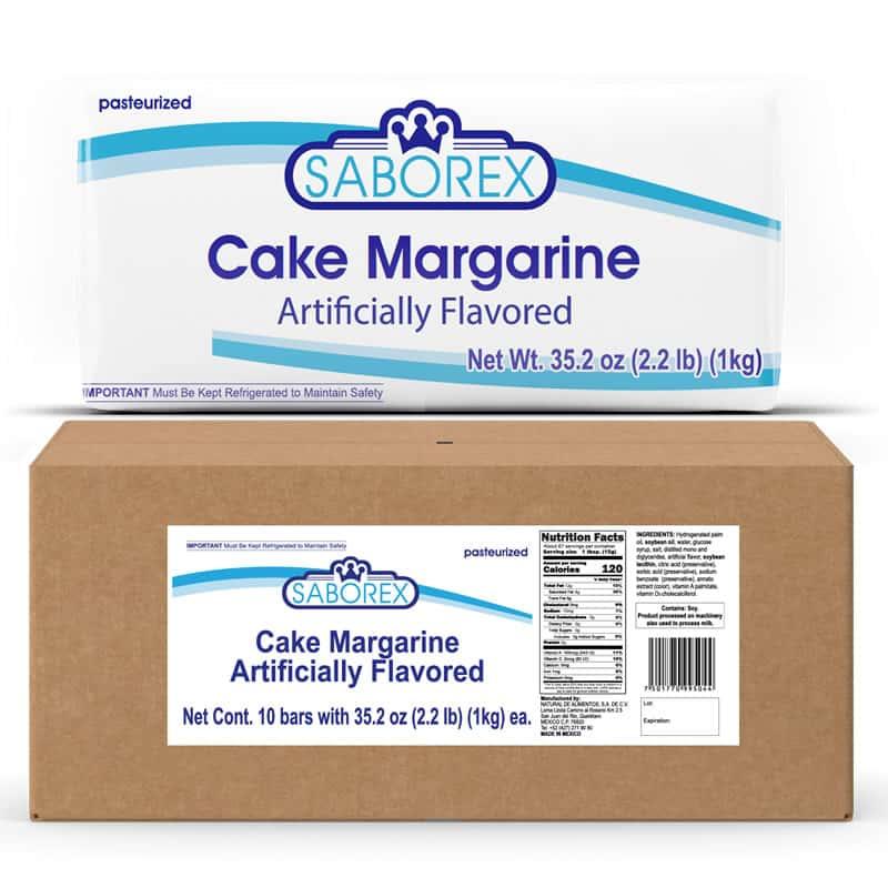 margarina para pastel