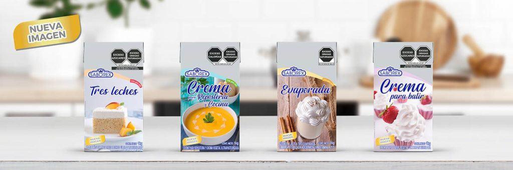 productos lácteos saborex