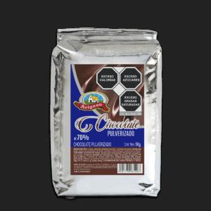 chocolate pulverizado