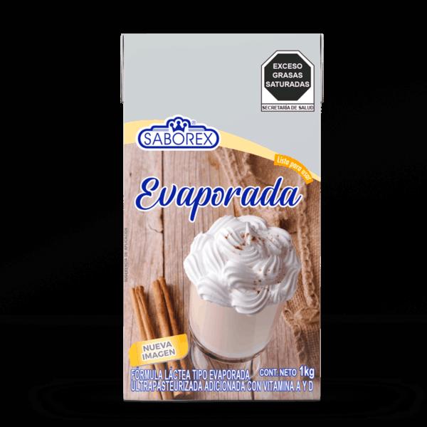 leche evaporada saborex