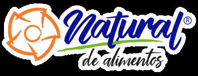 logotipo natural de alimentos